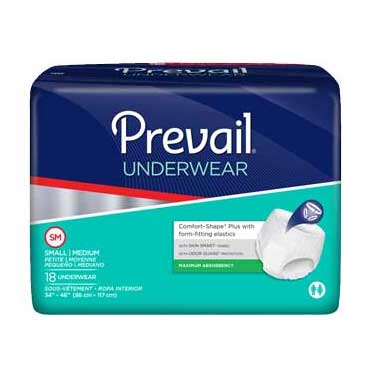 "Prevail Super Plus Underwear Small/Medium 34"" - 46"" FQPVS512"