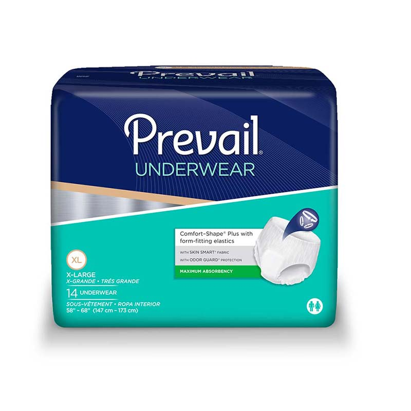 "Prevail Super Plus Underwear X-Large 58"" - 68"" FQPVS514"