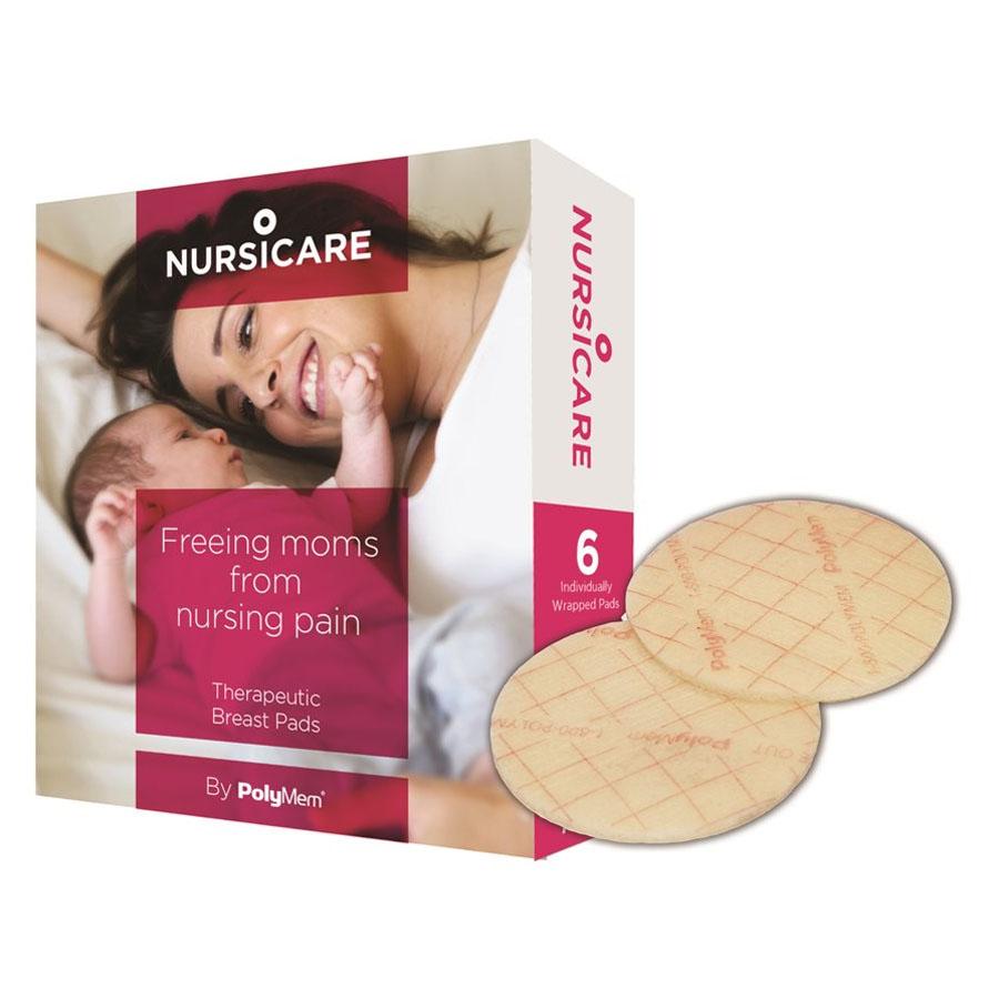 """NursiCare Sterile Breast Pad, 2.5"""""""" Diameter FR400US"""