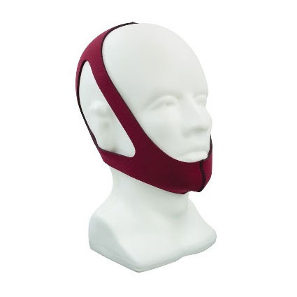 Roscoe 3 Point CPAP Chin Strap, Small, Ruby Red FUROST09S