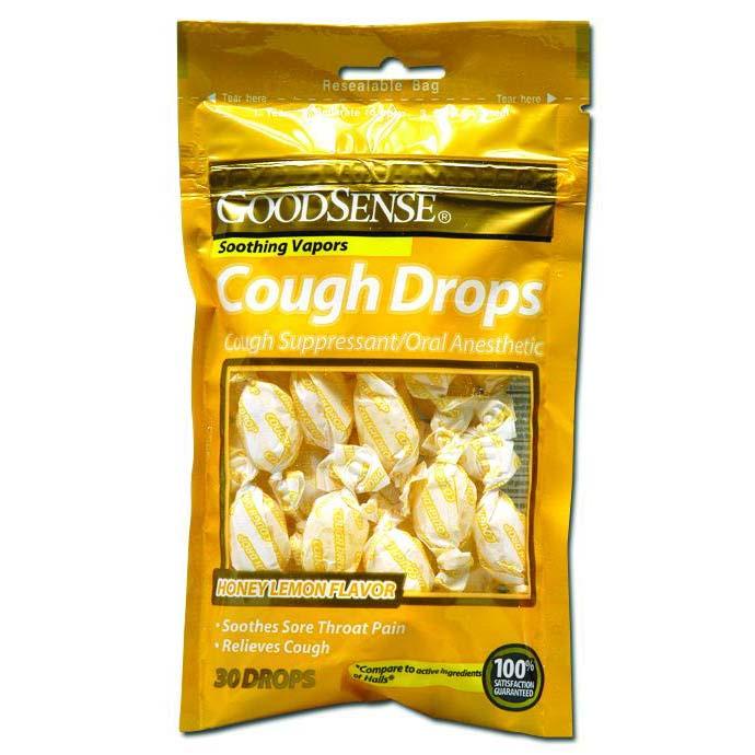 GoodSense® Cough Drops 30 Count, Honey Lemon GDDBS00043A