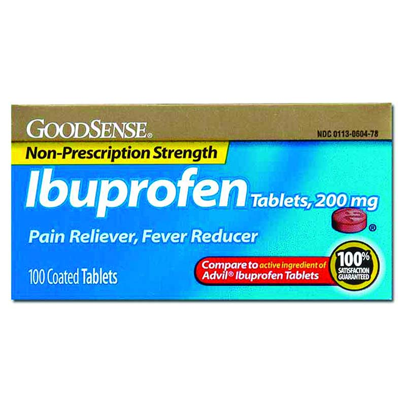 Ibuprofen Tablet, 200 mg (100 Count) GDDLP13996