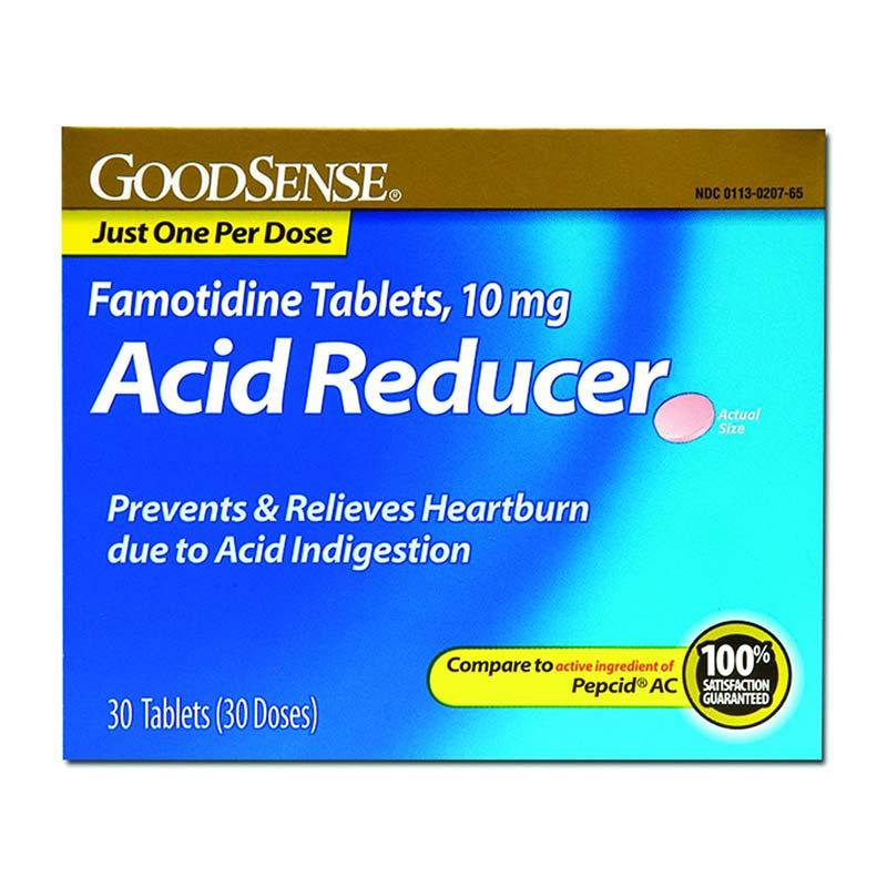 Original Strength Famotidine Tablet, 10 mg (30 Count) GDDLP14513