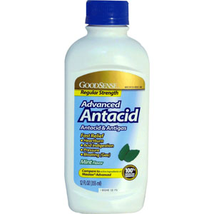 GoodSense® Liquid Antacid 12 oz, Mint GDDLP85140