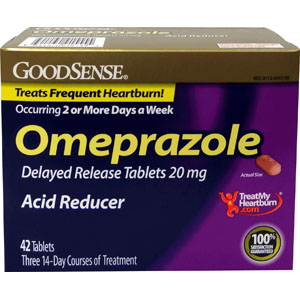 Omeprazole Tablet, 20 mg (42 Count) GDDLP91555