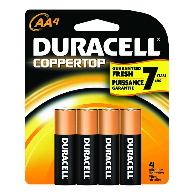 Duracell® Alkaline Battery Size AA GILMN1500B4Z