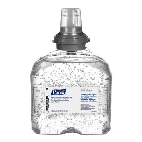 Purell Advanced Hand Sanitizer Gel Refill for TFX Dispenser, 1200 mL GOI545604