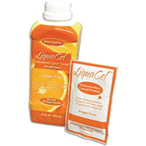 Global Health Products IN LiquaCel™ Ready-to-Use Orange Liquid Protein 32Oz, 2240 Cal, Sugar-free, Beverage fortifier GPGH92