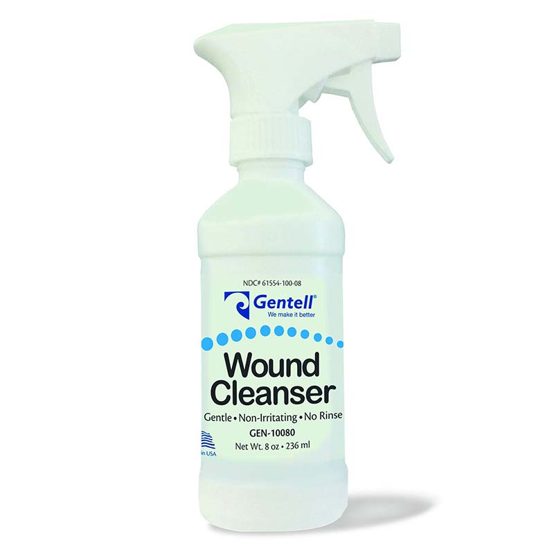 Gentell Wound Cleanser 8 oz. Spray Bottle GTL10080