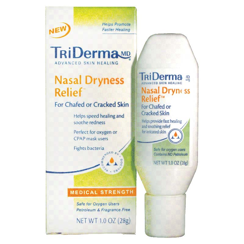 Genuine Virgin Aloe TriDerma® Nasal Dryness Relief™ Gel, Petroleum, Fragrance-Free GVA51015