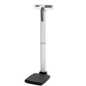 Digital Eye-Level Stand-On Scale W/Height Rod HB500KL