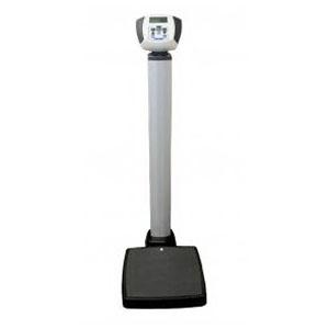 "Pelstar Heavy Duty Waist High Digital Scale 600 lb Capacity, 1/5 lb Resolution, 14-3/4"" W x 14-11/16"" D Platform Size HB599KL"
