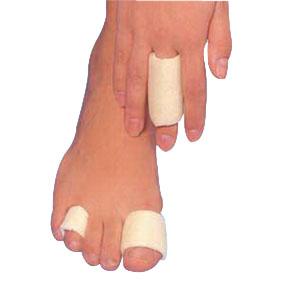 """Softeze Finger And Toe Protective Bandage 1"""" Large HFFB302"""
