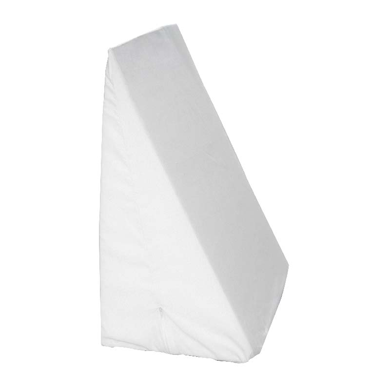 "Hermell Products Slant Bed Wedge 24"" x 24"" x 10"" Blue, Poly/Cotton HFFW4080B"