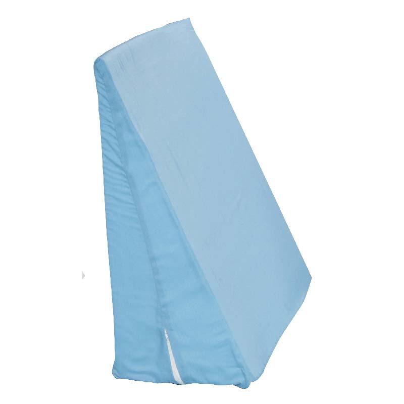 """Hermell Products Foam Slant Wedge W/White Zip Cover, Polycotton, Polyurethane Foam 24"""" L x 24"""" W x 12"""" D HFFW4090"""