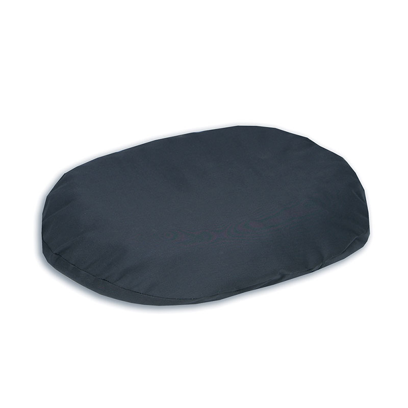 "Hermell Comfort Ring Cushion, with Navy Fabric Cover, 16"" HFIR7016NV"