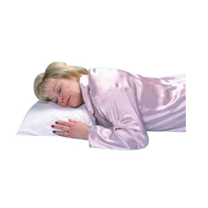 "Hermell Products Buckwheat Sleeping Pillow 16"" x 20"" White HFMJ1620"