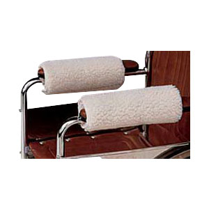 Hermell Padded Imitation Sheepskin Arm Cozies, Size 10 HFMO5020