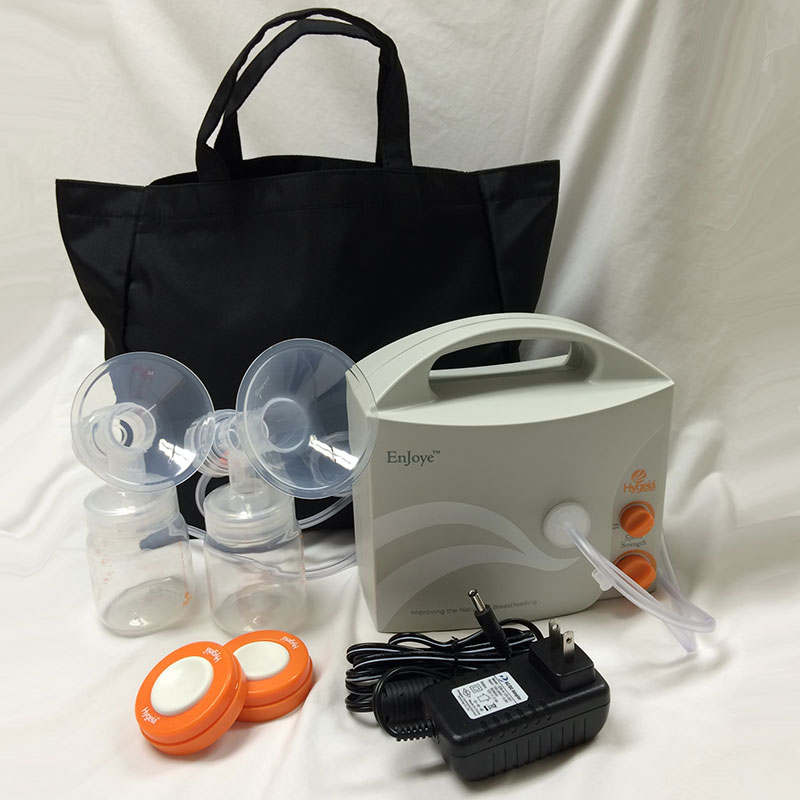 Hygeia Enjoye Breast Pump with PAS Personal Accessory Set and Power Supply HG100269