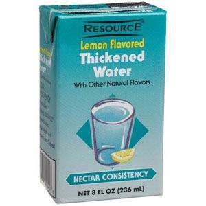Thick & Easy HYDROLYTE Thickened Lemon Water, Honey Consistency, 4 oz HM46056