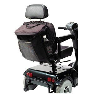 """Homecare Products Scooter and Power Chair Pack Medium Sleeve, 16"""" x 14-1/2"""" x 6"""" Black HNEZ0122BK"""