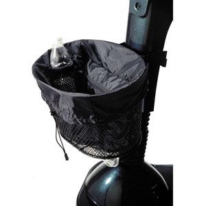 """Homecare Products Scooter Basket Liner 13"""" L x 10"""" x 11"""" H, Black HNEZ0126BK"""