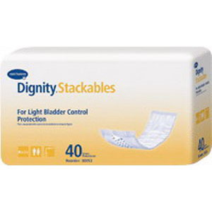 "Dignity® Lites Stackable Thin Pads, 3-1/2"" x 12"" HU30053"
