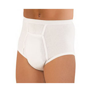 Sir Dignity Washable Brief with Built-In Protective Pouch Large 38'' - 40'' HU40213