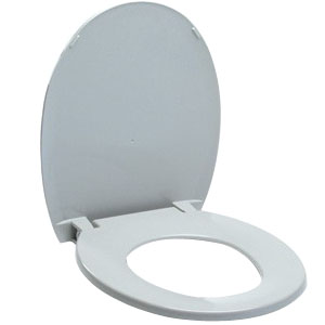 Invacare Replacement Seat and Lid, For Commode INV1112182
