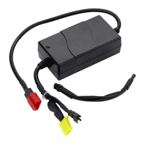 Invacare On-board Battery Charger with 2 Amp Power Cord, 24V, Compatible with Lynx™ L-3 and L-4 Scooters INV1144797