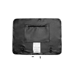 Invacare Seat Kit with Attaching Hardware, For 66550 Rollator INV1176369