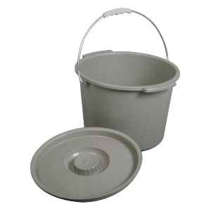 Invacare Pail with Sleeve and Lid, For 6599 Commode INV1179639