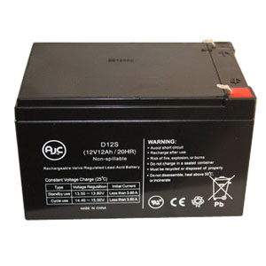 Invacare Replacement Batteries 12V For Power Scooter INV12AH2