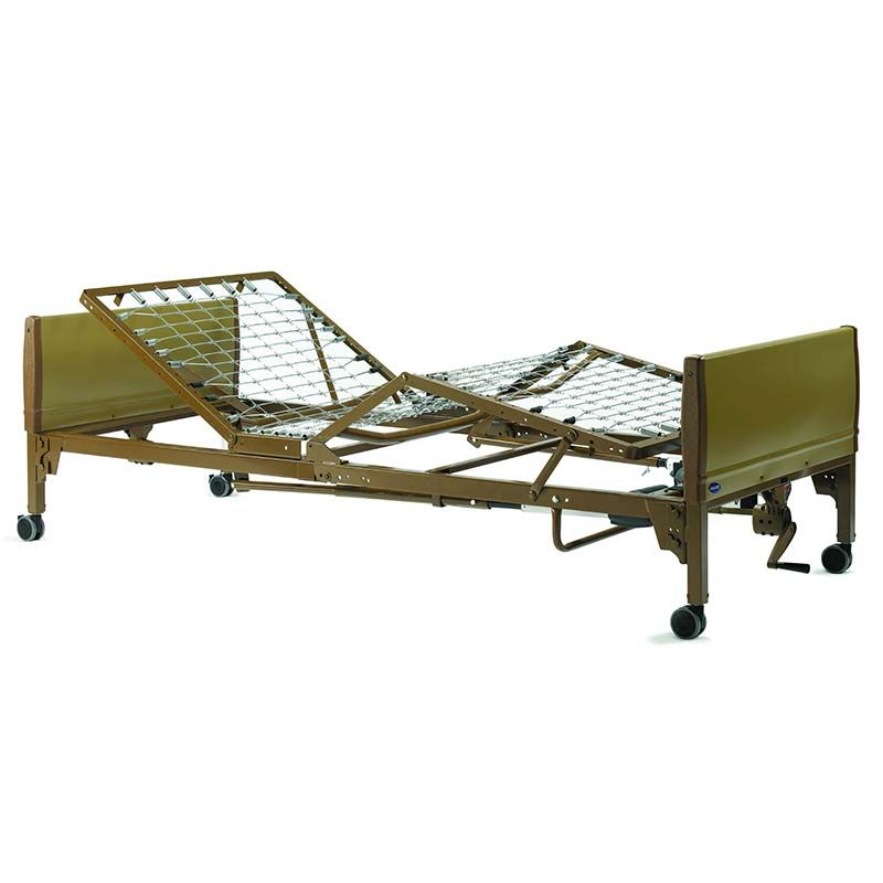 "IVC Semi-Electric Hospital Bed, 88"""" x 15"""" to 23"""" x 36"""" INV5310IVC"