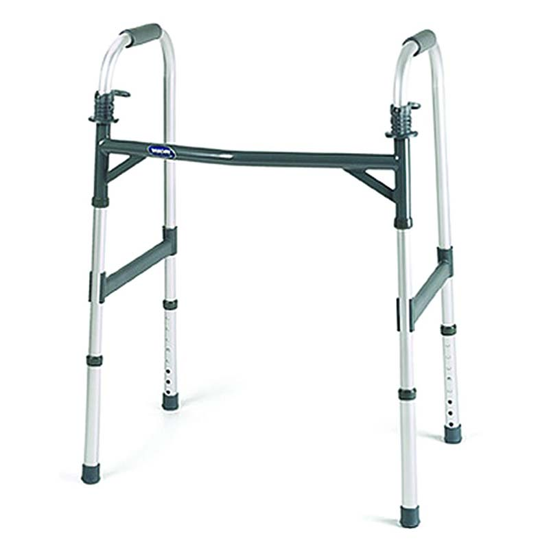 "Invacare Dual-Release Adult Heavy-Duty Paddle Walker 17-1/2"" D INV6291HDA"