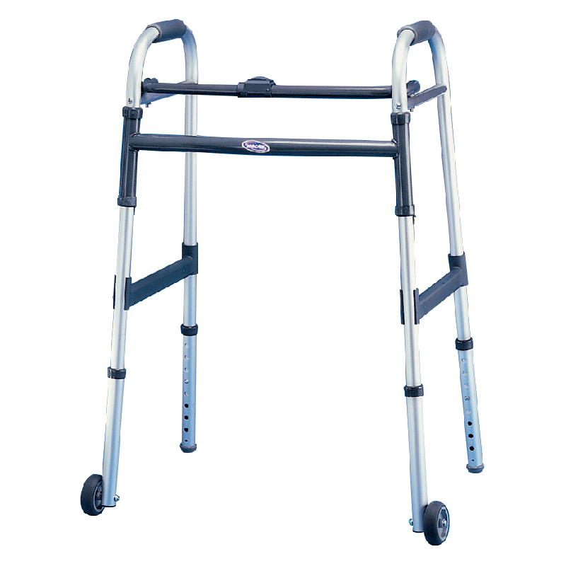 "Invacare Dual-Release Junior Paddle Walker with 5"" Fixed Wheel  INV6291JR5F"