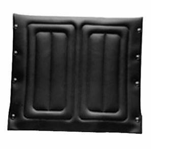 """Replacement Seat Upholstery and Hardware Kit, 20"""""""" x 18"""""""" Frame, Black INV8881135515U67"""