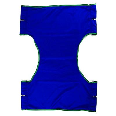"CareGuard Standard Sling with Commode Opening, 40-1/2"""" L x 29"""" W, Solid Polyester INV9043"