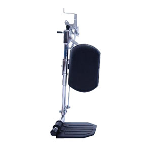 Invacare Hemi Smartleg Articulating Legrests, with Aluminum Footplates and Padded Calf Pads INVAHL4A