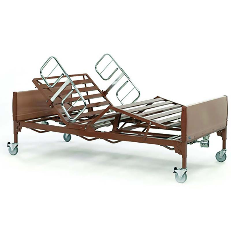 "Invacare IVC™  Bariatric Bed 88"" L x 14"" to 22"" H x 42"" W  INVBAR600IVC"