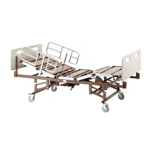 Bariatric Bed Package with BAR750, BARMATTEXP, 750 lb. Capacity INVBARPKG75021633