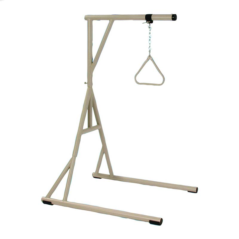 "Invacare Bariatric Floor Stand with Trapeze 73"" H INVBARTRAP"