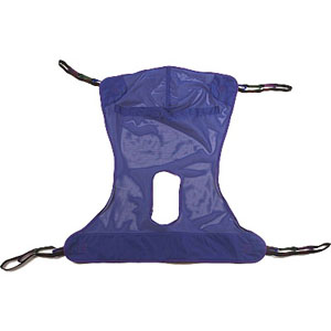 Invacare Reliant™ Full Body Sling with Commode Opening Medium INVR114