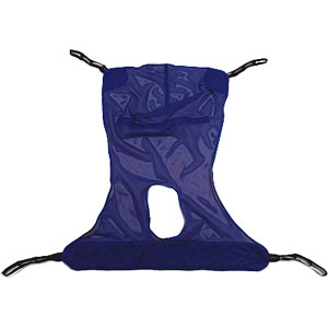 Invacare Reliant™ Full Body Sling with Commode Opening XL INVR116