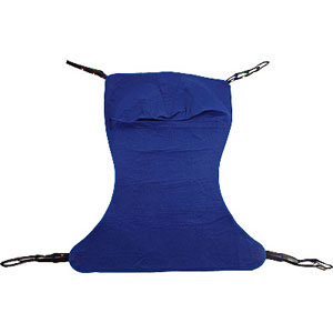 Invacare Reliant™ Full Body Solid Fabric Sling without Commode Opening XL INVR117