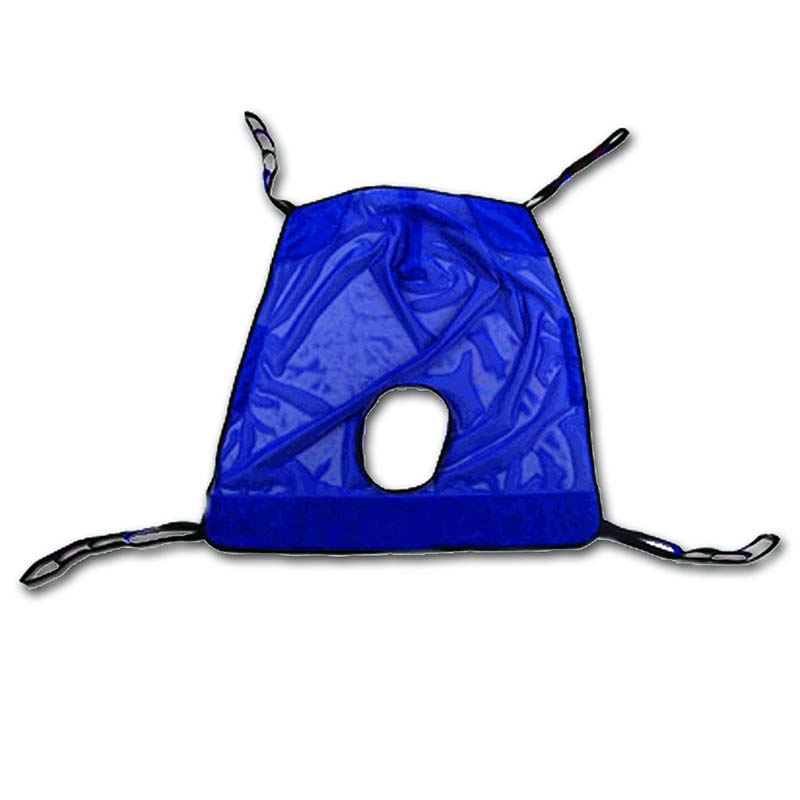 Invacare Reliant™ Heavy Duty Full Body Sling with Commode Opening 2XL INVR141