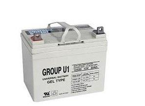 Invacare Gel Battery, 31 Amp/Hour, 12V INVU1GEL2