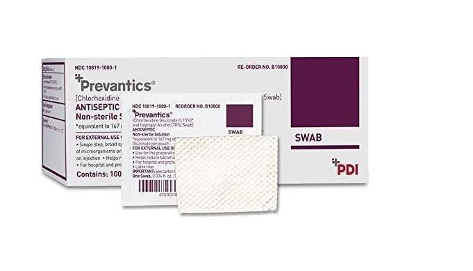 Antiseptic Chlorascrup Wipe JI360B10800