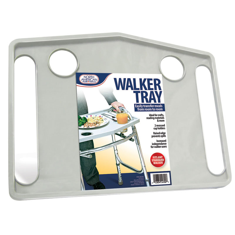 "Walker Tray, Gray, 20-3/4"""" x 15-3/4"""" x 1"""" JIIJB4790"