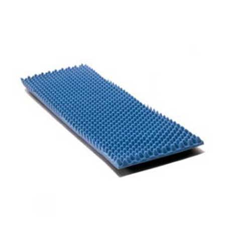 "Joerns Healthcare Eggcrate Convoluted Foam Bed Pad, 33"" x 72"" x 4"", 1"" H JN14000CC"